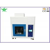 Best Touch Screen Flammability Testing Equipment / Needle Flame Tester IEC60695-11-5 IEC60695-2-2 wholesale