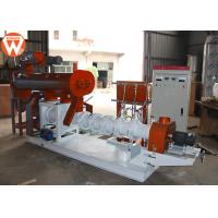 China 2250kg Floating Fish Feed Pellet Machine Conditioning Power 3KW Sinking 1T/H on sale