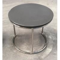 Quality stone top metal end table/side table/coffee table for hotel furniture TA-0078 wholesale