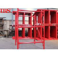 Quick Erection H Frame Scaffolding 6 Inch Height With Stable Shoring Capacity