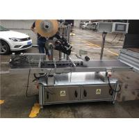 Hang Tag / Card / Bag Automatic Sticker Labeling Machine Stainless Steel Material