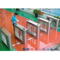Cheap 304 Stainless Steel Card Read Swing Arm Barriers Security Pedestrian Control System for sale