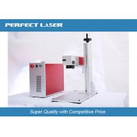 Quality 10w 20W Desktop Laser Etching Equipment For Stainless Steel Metal , Marking Systems wholesale