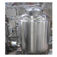 Cheap 2000L Industrial Stainless Steel Hot Water Tank 100MM Insulation Thickness for sale