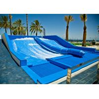 Best Aqua Park Surf N Slide Water Slide Blue Skateboarding Exciting Experience wholesale