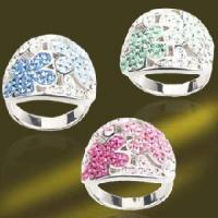 Buy cheap 925 Silver Ring Crystal Stone Ring (RSK3775) from wholesalers