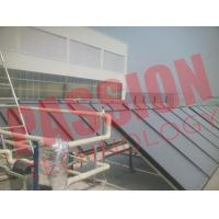 Best Blue Titanium Pressurized Flat Plate Solar Collector Heating System wholesale