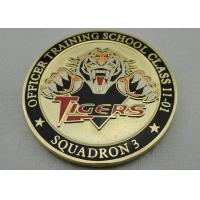 Best Double Sided Officer School Personalized Coins with synthetic enamel and Gold, Copper, Silver Plating wholesale