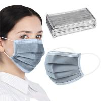Best Light Weight Activated Carbon Dust Mask Grey Color 25 + 35 + 25 + 25 GSM wholesale
