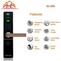 Best Zinc Alloy Material IC Card Entry Door Lock with Password function wholesale