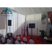 Best Snow Load Marquee Canopy Tent Sound Insulation With Double PVC Coated Cover wholesale