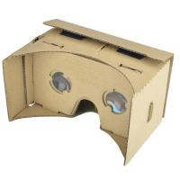 Cheap 3D VR Virtual Reality Headset 3D Movie Game Glasses Adjust Cardboard VR BOX 2 . 0 for sale