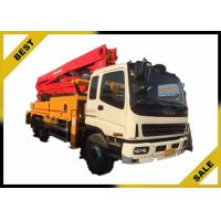 Best 25m Truck-mounted Concrete Pump Concrete Boom Pump Truck 132 kw wholesale