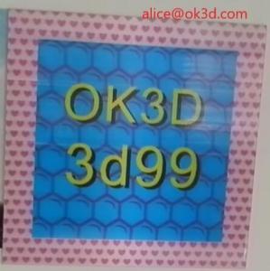 Best OK3D 3d lenticular effect 360 degrees dot raster 3D stereoscopic Frame fly eye 3d photo frames for home decorations wholesale