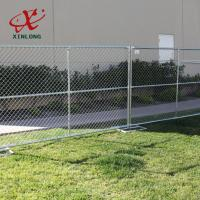 Best Portable Outdoor Temporary Security Fence Panels Metal Iron Material wholesale