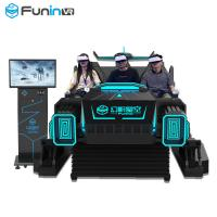 Best Electrical Platform 9D VR Simulator Virtual Reality Car Games Vibrating Machine For Mall Center wholesale