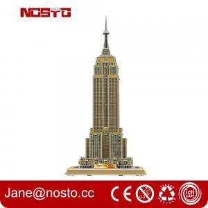 Best Intelligent DIY Building Paper 3D Puzzle Famous Building wholesale