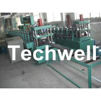 Best 18 Groups Forming Roller Stand Upright Rack Roll Forming Machine for Storage Rack wholesale