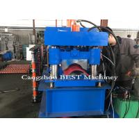 China High Efficiency 255mm Ridge Cap Roll Forming Machine With Pressing For Tile on sale