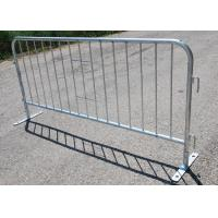 Buy cheap Traffic Road Safety Pedestrian Crowd Control Barriers Heavy Duty Galvanized from wholesalers