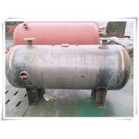 Best 3000 Liter Stainless Steel Air Receiver Tank , Pneumatic Compressed Air Reservoir Tank wholesale