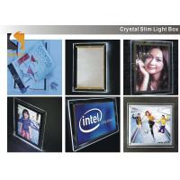 Best A3 Acrylic Advertising Light Box Display , Illuminated Menu Boards For Restaurants  wholesale