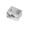 Buy cheap 16mm*12mm*20mm Aluminum 3D Printer Heater Block V6 J Head from wholesalers