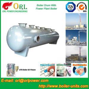 Best Stainless Steel Boiler Mud Drum , Boiler Steam Drum SGS High Efficiency wholesale