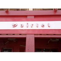 Best Flat Surface AIRTEL LED Channel Letters With Iron Returns Economic Model wholesale