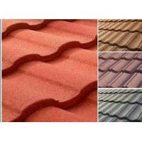 Best metal roofing companies/construction building stone chips coated metal roof tiles/roof sheet/ roof panels wholesale