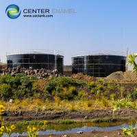 China Glass Fused To Steel Liquid Storage Tanks With Porcelain Enamel Coating Process on sale