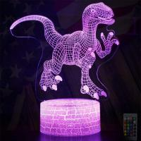 Best 7 color flashing fashionable Decoration Usage and CE Certificate Standard LED 3d illusion lamp wholesale