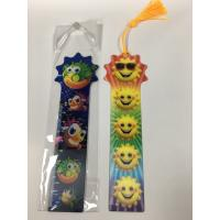 Cheap New Arrival 3D Bookmark Ruler For Student Custom 3D Lenticular Ruler for sale