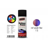 Best  Air Dry Removable Rubber Spray Paint With Chameleon Red - Purple - Blue Color wholesale