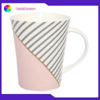 Best Ceramic Decal Coffee Mug Porcelain Tea Decal Cup Custom Printed With C Handle wholesale