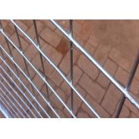 Cheap Hot Dipped Galvanized Steel Temporary Fencing With 38MM Pipe Plastic Foot for sale