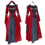 Best Medieval Dress Wholesale XXS to XXXL Red Gothic Renaissance Medieval Victorian Evening Dress Costume Cosplay wholesale