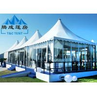 Best Luxury Pagoda Canopy Tent Choosable Tent Shape For Wedding Ceremony And Catering Events wholesale