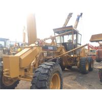 Best 140H Used Motor Grader Secondhand Road Machinery Caterpillar With Ripper wholesale