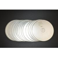 """6""""inch -20""""inch Ultra Thin Sintered Diamond Lapidary Notched Rim Saw Blades With Single Directional Blades"""