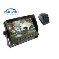Best 4CH High Definition 7inch Quad Car Monitor with 4 1080P Cameras for Truck wholesale