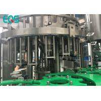 Best Glass Bottle 4 in 1 Monoblock Pulp Juice Filling Machine With PLC Control wholesale