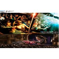 Best 6D Cinema Movie Theater With 3D Glasses, Rain, Wind, Lightning Special Effect System wholesale