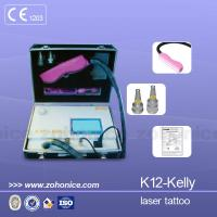 China 1064nm / 532nm Mini Laser Tattoo Removal Machine Portable For Color Tattoo Removal on sale