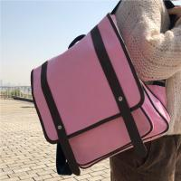 Best Fashion Pink Panvas Backpacks For School Environmental Friendly wholesale