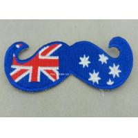 Best Australia Woven Custom Embroidery Patches Lapel For Business wholesale