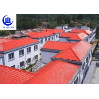 Best Customized Synthetic Resin Roof Tile Rubber ASA Spanish Bamboo Roofing Sheets wholesale