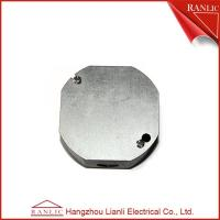 Cheap Octangular Electrical Metal Conduit Box Cover With Middle Hole 1/2 inch or 3/4 for sale