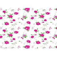 China Fashion flower printed paper / sublimation paper roll for textile and garments on sale