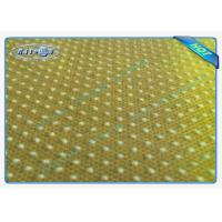 Best Good Strength Anti Slip PP Spunbonded Non Woven Fabric with PVC Dots wholesale